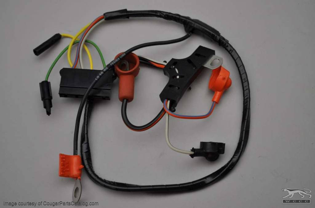 Details About 1970 Ford Mustang Mercury Cougar Original Wiring Diagram
