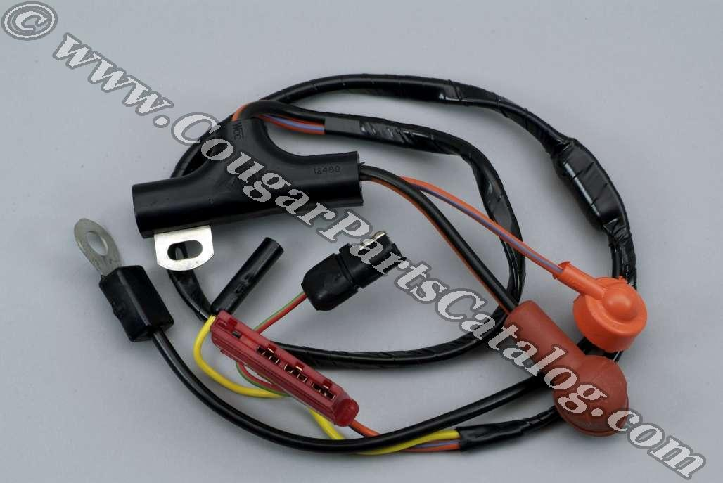 94 mustang alternator wiring harness 1968 ford mustang alternator wiring harness alternator wiring harness - economy - repro ~ 1972 - 1973 ... #10